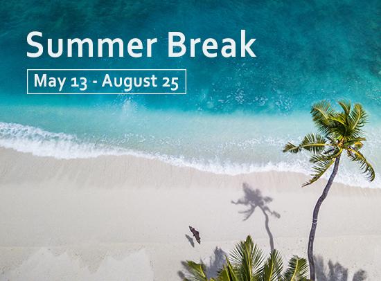 Midweek Summer Break Box Ad