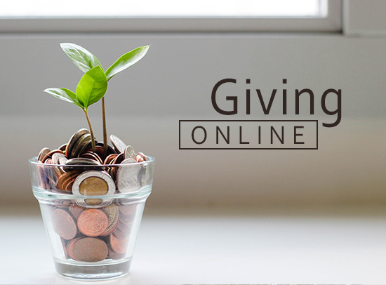 Online Giving Box Ad